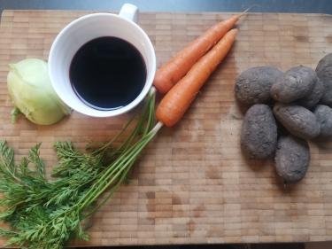 rotwein-Karotte